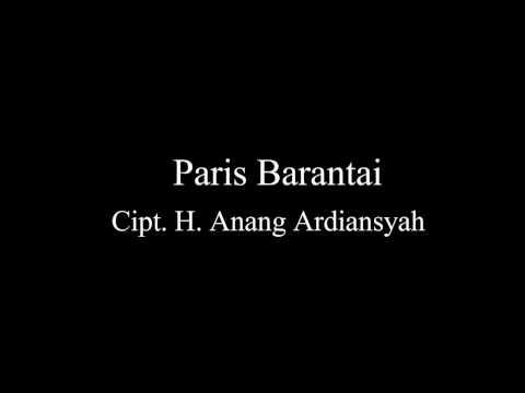 Lagu Banjar-Paris Barantai
