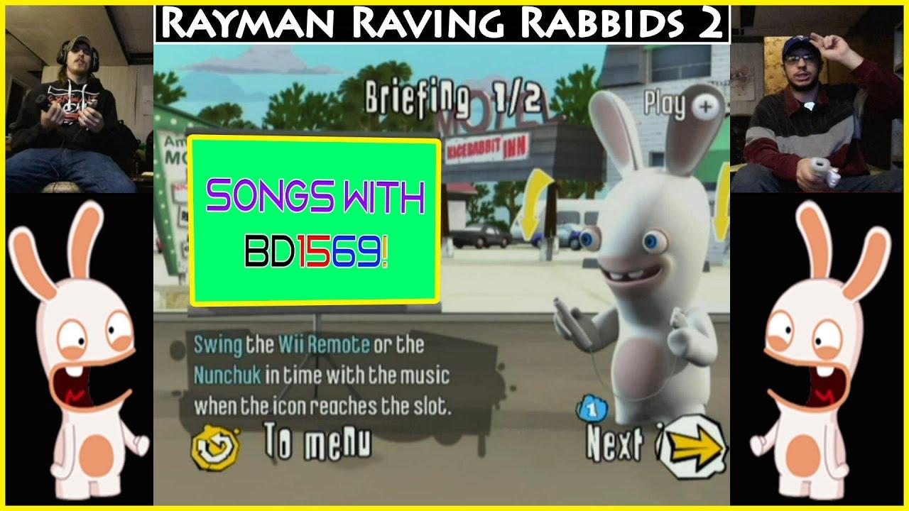 raving rabbids songs