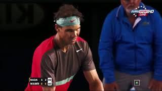 Rafa Nadal was INJURED, but still WON a SET