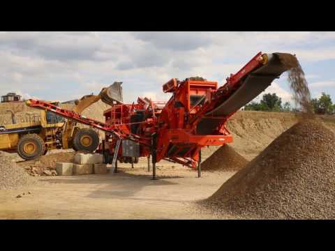 On its way to Horton Supply...…     the Eagle Crusher Rapid Deploy Crushing and Screening Plant