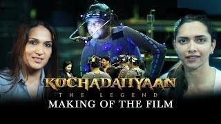 Repeat youtube video Making Of - Kochadaiiyaan (The Legend) | Rajinikanth & Deepika Padukone