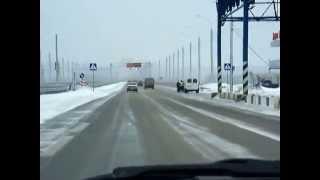 Танцующий мост 480p(Зима, дорога через