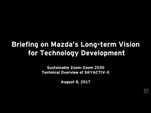 Briefing on Mazda's Long-Term Vision for Technology Development