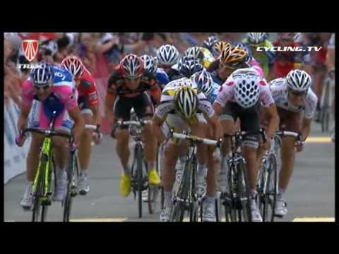Mark Cavendish Crash - Tour de Suisse Stage 4 2010