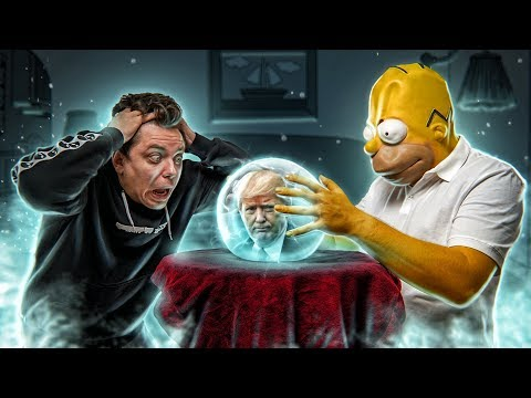 THE SIMPSONS KNOW EVERYTHING | PREDICTIONS [Top Secret]