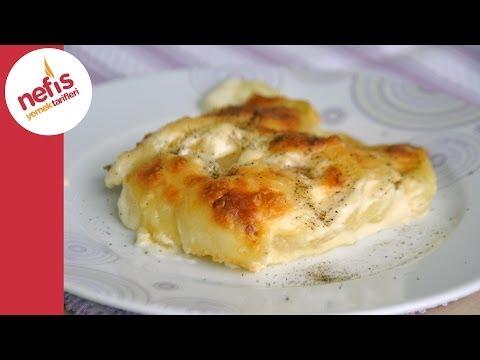 fırında kremalı patates tarifi  nefis yemek tarifleri