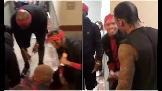 Nick Cannon Runs Into Chris Brown Dice Game With Pirus