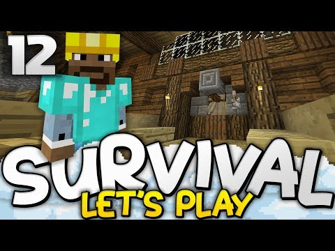 MOB SPAWNER XP FARM!  Survival Lets Play Ep 12  Minecraft Bedrock PE W10 XB1