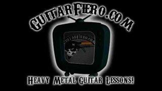 """Como tocar """"Pulse of the Maggots"""" Guitarra (Slipknot) by GuitarFiero.com"""