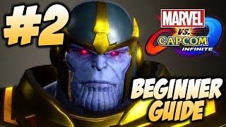 Beginner Guide Episode 2 - Infinity Stones - Marvel vs Capcom Infinite