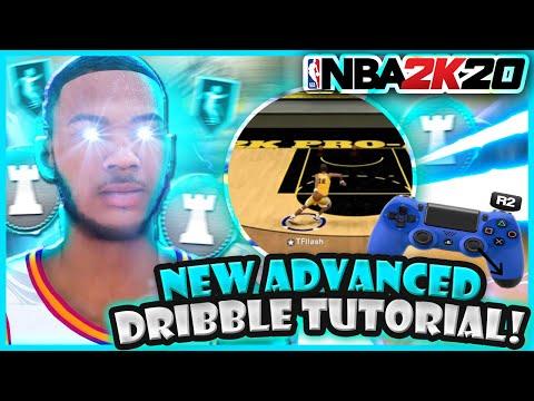NBA 2K20 ADVANCED DRIBBLE TUTORIAL W HANDCAM! LEARN OP GLITCH COMBOS! NEW FASTEST BEST DRIBBLE MOVES thumbnail