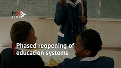 Proposed phased reopening of SA's education system: What you need to know