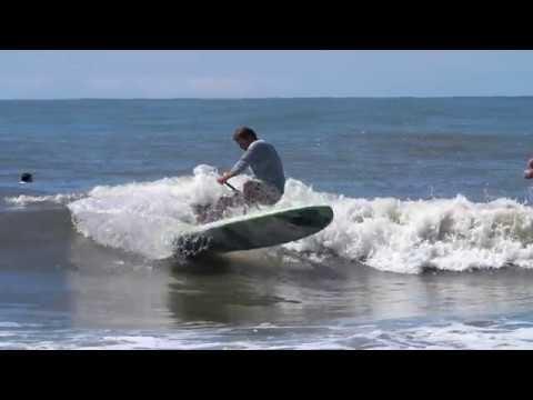 Sunday Surfing Folly Beach Washout Sup Longboard Panasonic Gh5