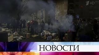 В Донбассе шахтеры объявили забастовку и перекрыли несколько трасс около города Селидова.