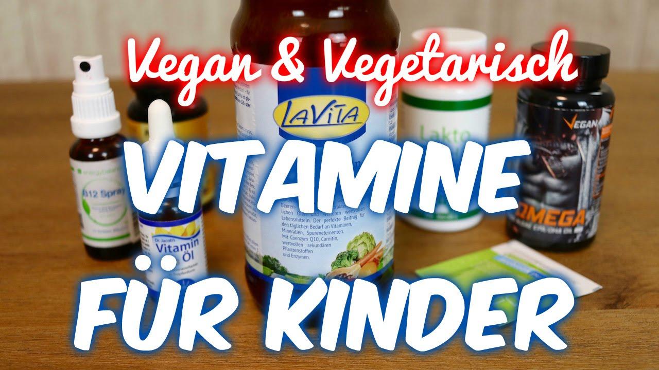 Vitamine Für Kinder Vitamin D B12 Omega 3 Vegan Vegetarisch