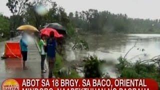 UB: Abot sa 18 barangay sa Baco, Oriental Mindoro, naapektuhan ng pagbaha