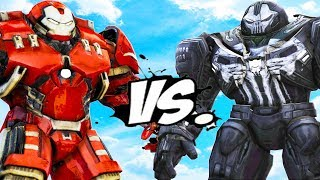 HULKBUSTER VS PUNISHER - HULKBUSTER