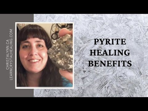 Healing with Pyrite