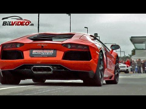 Lamborghini Aventador LP700 Sportscar Event