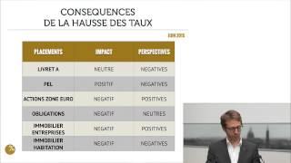 Parlons Placements N°4 : Les taux remontent : bonne ou mauvaise nouvelle ?