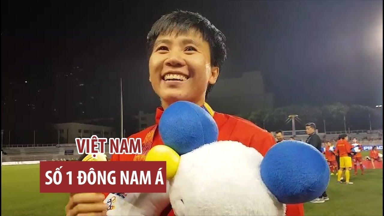 Vô địch SEA Games, Tuyết Dung dõng dạc khẳng định bóng đá nữ Việt Nam là số 1 Đông Nam Á