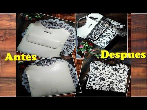 6e0fe8141487 Como customizar/reciclar una cartera
