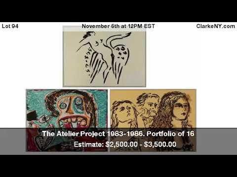 The Atelier Project 1983-1986. Portfolio of 16