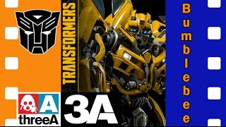 Фигурка трансформеры Бамблби | Transformers Bumblebee ThreeA