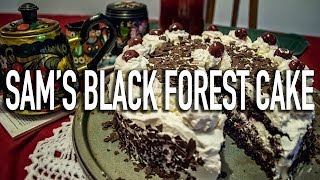 Life in Germany - Ep. 40: Sam bakes a Black Forest Cake!