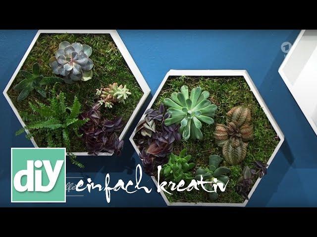 Green-DIY: Pflanzenbox | DIY einfach kreativ