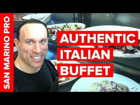 Italian Food Buffet w/Dave Palumbo at 2016 San Marino Pro