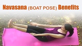 Navasana (BOAT POSE) Benefits