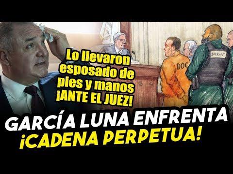Con Esposas En Pies Y Manos, Llevaron A García Luna Ante El Juez En EEUU. ¡Mira Lo Que Paso!