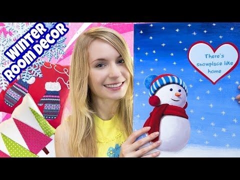 Thumbnail: DIY ROOM DECOR! 10 DIY Projects for Winter & Christmas! Decorating ideas for a Frozen Room