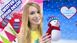 DIY ROOM DECOR! 10 DIY Projects for Winter & Christmas! Decorating ideas for a Frozen Room(DIY Room Decor! In this DIY Winter Room decorating ideas for teenagers tutorial I show 10 beautiful DIY projects on how to decorate your bedroom., 2015-12-12T08:42:28.000Z)