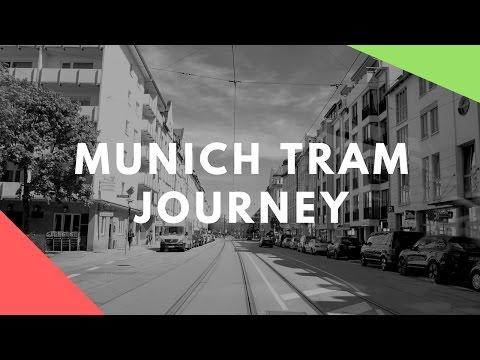 Munich tram journey to Grunwald - Travel Germany