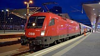 Züge Wien Hbf (20:00 - 24:00), SOMMER 2016