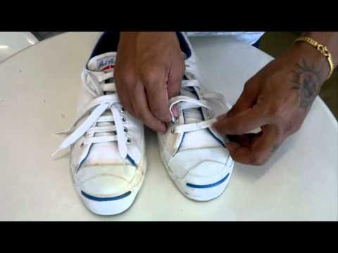 ผูกเชือกรองเท้าแบบโบว์