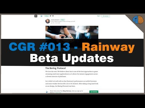 The Cloud Gaming Report #013 - Rainway Beta Upgrades - YouTube