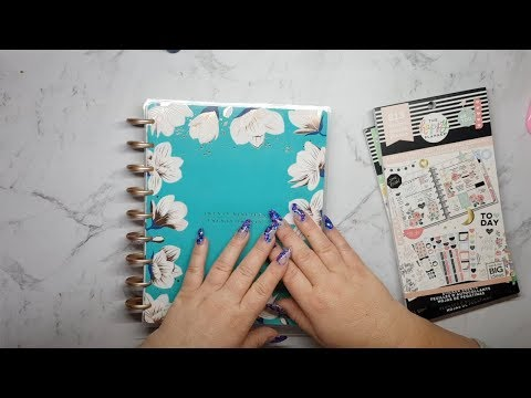 Happy Planner Southern Preppy Unboxing and Haul and Some Other Stationery thumbnail