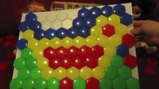 Собираем детскую мозаику  Мозаика для детей Птица Collect children's mosaic  Mosaic for children