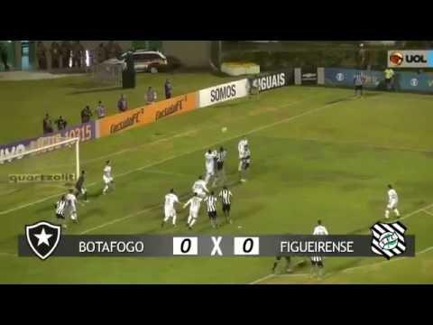 Botafogo 0 x 0 Figueirense - Melhores momentos - Brasileiro 2016
