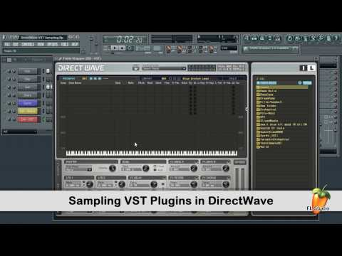 FL Studio Guru - Sampling VST Plugins With DirectWave