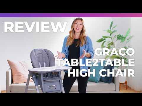 Graco Table2Table High Chair What to Expect Review