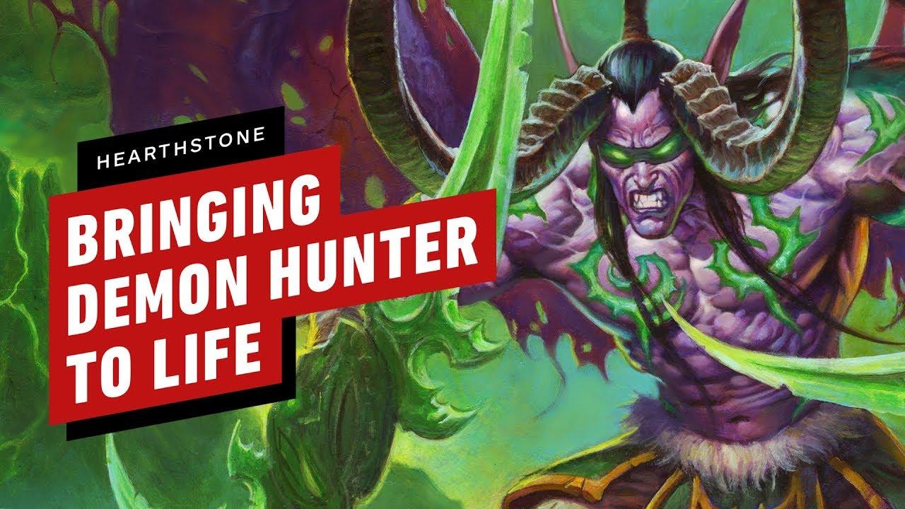 Hearthstone: cómo el cazador de demonios fue llevado a la vida + vídeo