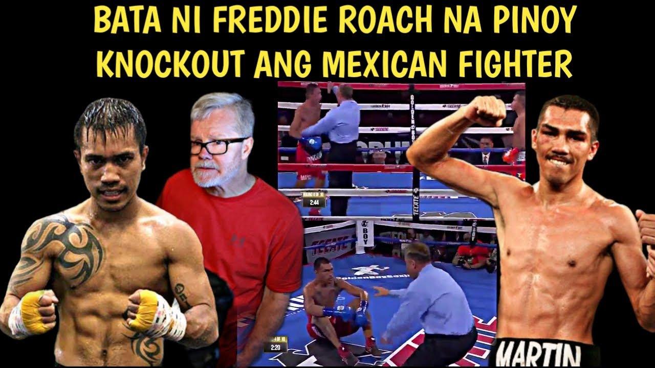 🇵🇭 Bata Ni Freddie Roach Na Pinoy Knockout Ang Mexican Fighter