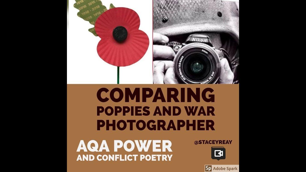 war photographer poem essays