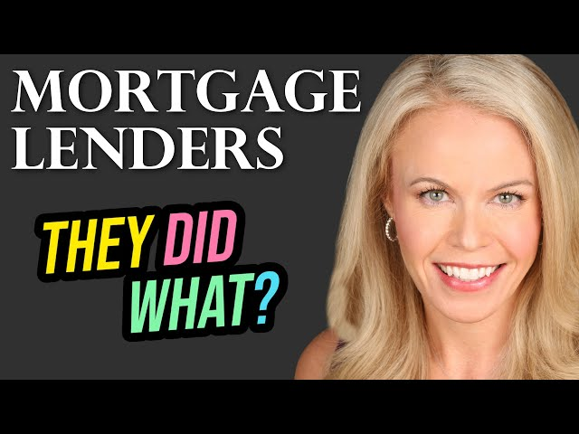 Mortgage Lenders Behaving Badly (2018)