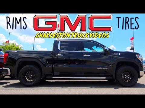 Rim & Tires on New 2019/2020 GMC Sierra Trucks | Denali, AT4 etc... Best Looking OEM Wheels by GMC