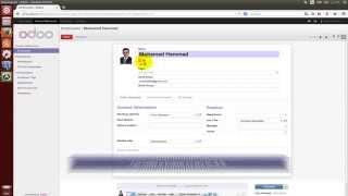 ZKTeco Odoo OpenERP Integration Module on Ubuntu by Mohamed Hammad
